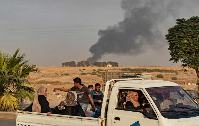 Image: TOPSHOT-SYRIA-CONFLICT-TURKEY-KURDS