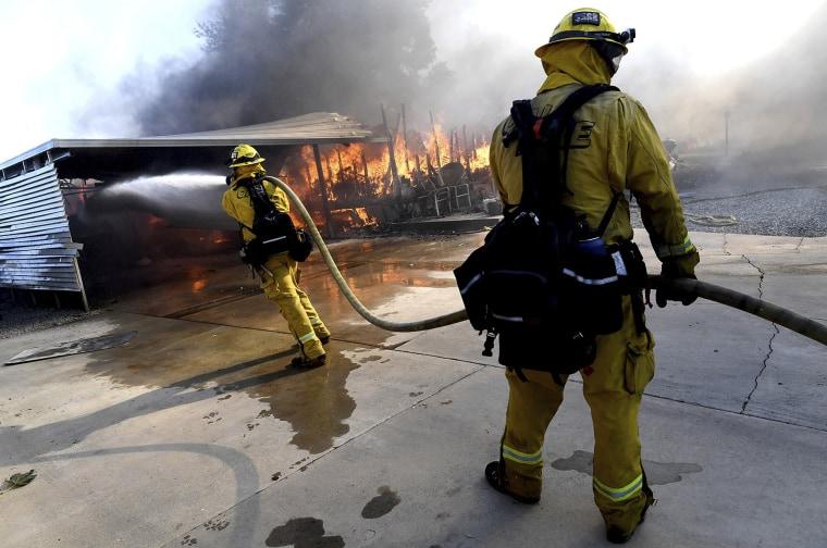 Image: Calimesa Fire