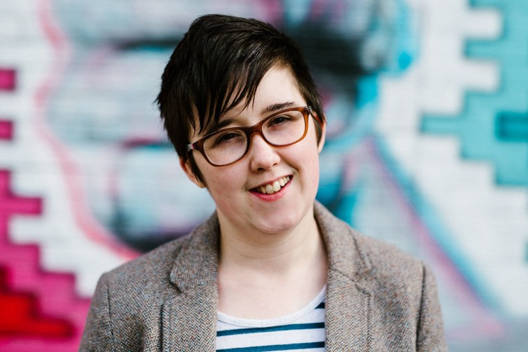 Image: Journalist and author Lyra McKee posing for a photograph in Belfast