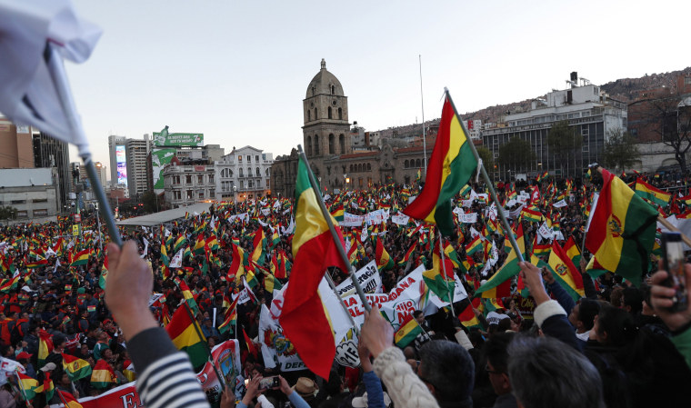 Protests, outrage over wildfires threaten Bolivian president's re-election