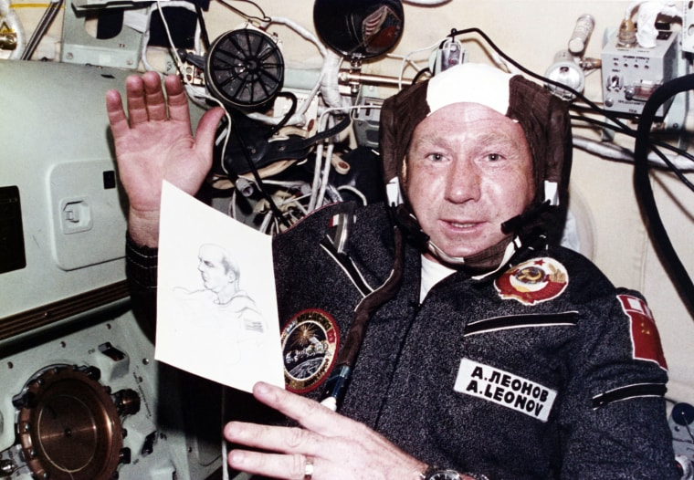 Image: Alexei Leonov - First Person to Walk in Space Dies Aged 85 Alexei Leonov