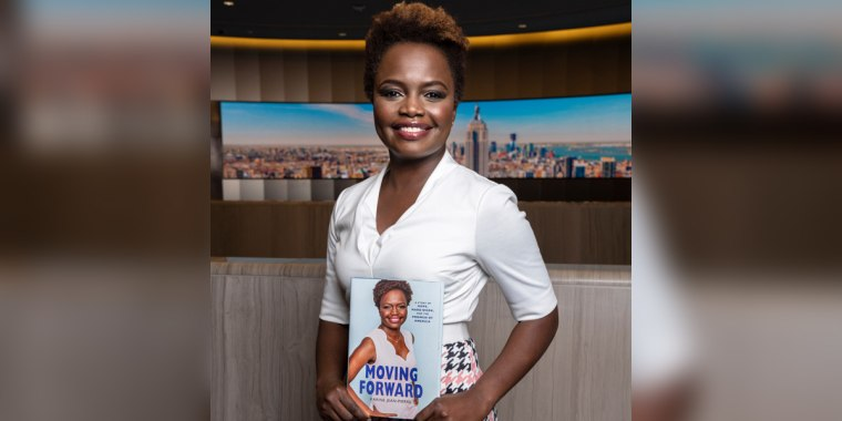 Karine Jean-Pierre is a political analyst for MSNBC and the chief public affairs officer for MoveOn.