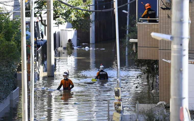 Japan sends in troops after massive typhoon hammers Tokyo, kills 23