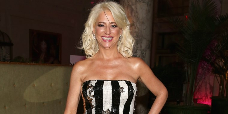 'Real Housewives' star Dorinda Medley, 55, embraces her age in makeup-free selfie