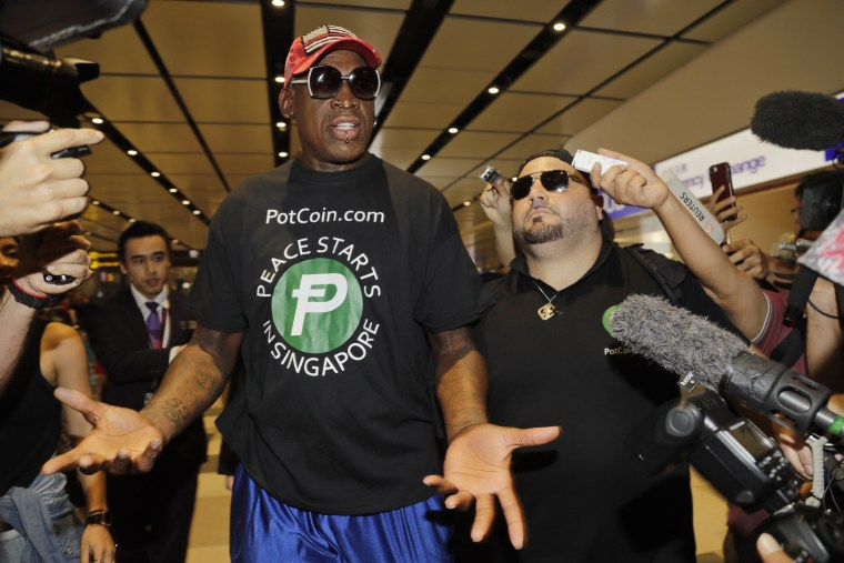 Dennis Rodman charged with battery for allegedly slapping man at Florida bar