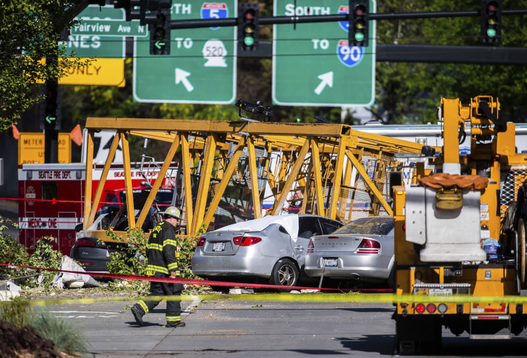 Image: Seattle Crane collapse