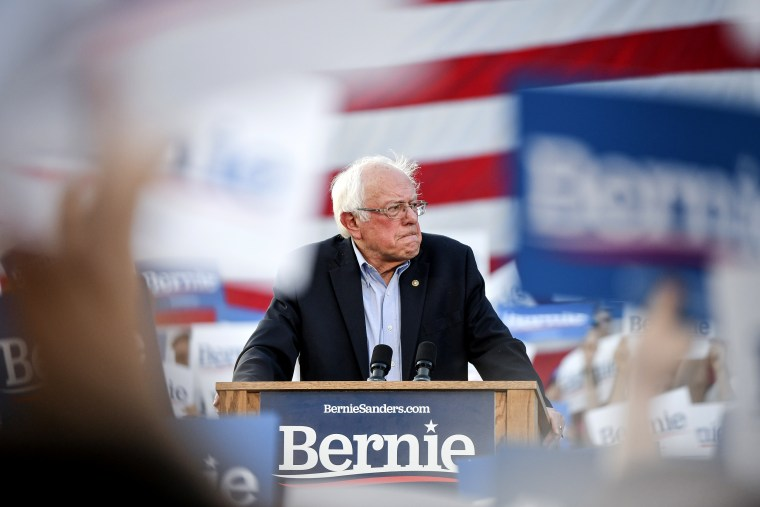 Image: Sen. Bernie Sanders Makes First Campaign Stop In Colorado For 2020 Race