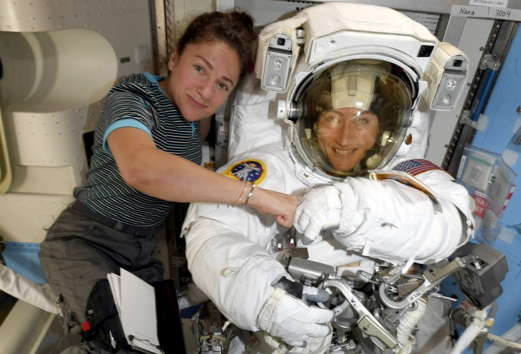 NASA's first all-female spacewalk will now take place this week