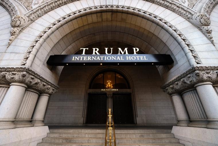 Image: Trump International Hotel Washington DC