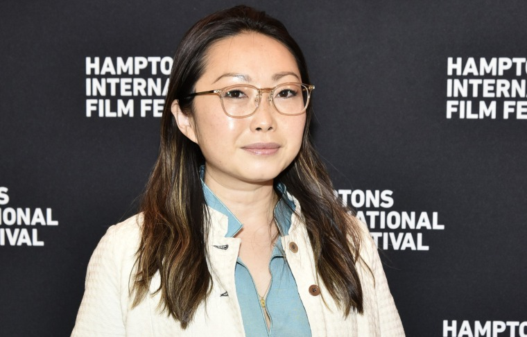 Director Lulu Wang held a Q&A for the sole man watching 'The Farewell' in theater