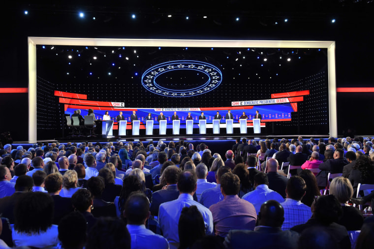 Image: US-VOTE-2020-DEMOCRATS-DEBATE