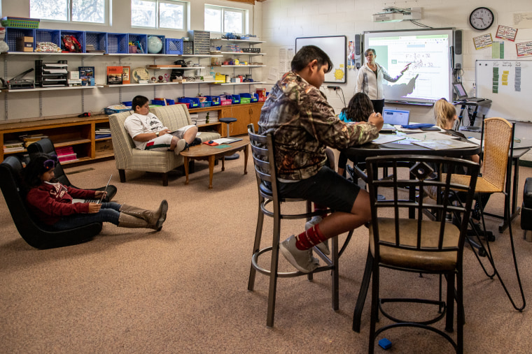 In rural Nevada, a one-room schoolhouse has educated generations of residents