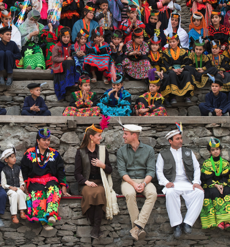 Image: BESTPIX: The Duke And Duchess Of Cambridge Visit The North Of Pakistan