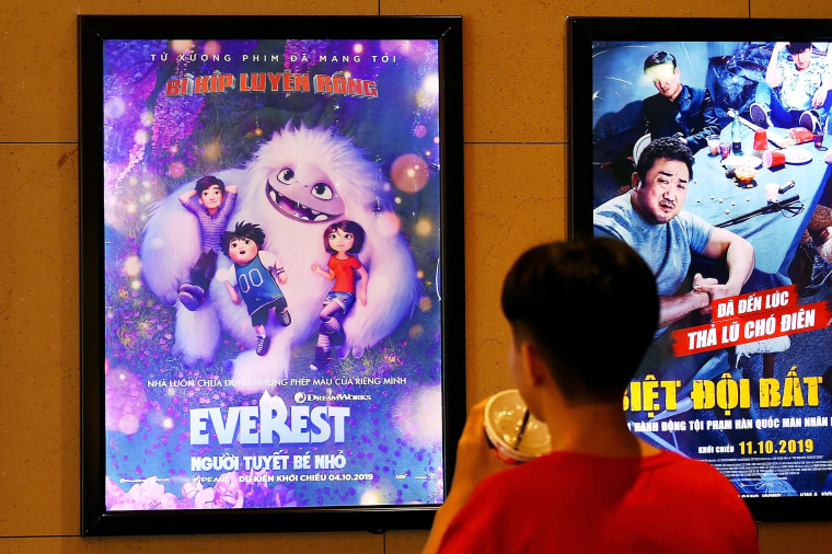 Malaysia orders cuts to 'Abominable' movie over controversial map scene