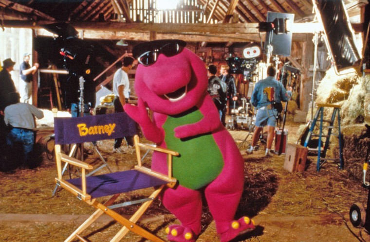 'I love you, you love me': There's going to be a Barney movie