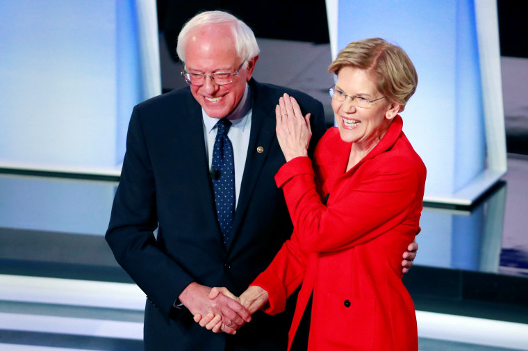 As Bernie Sanders scores AOC and Michael Moore endorsements, is a clash with Warren inevitable?