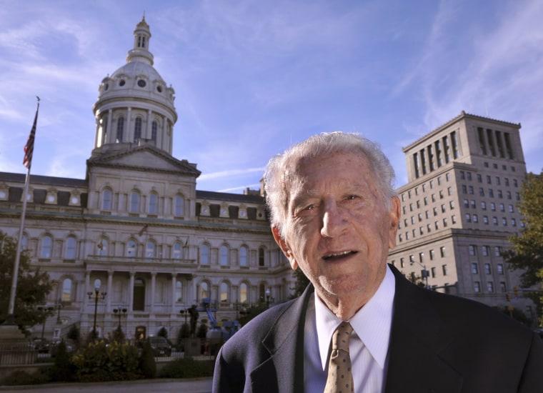 Image: Former Baltimore Mayor Thomas D'Alesandro III