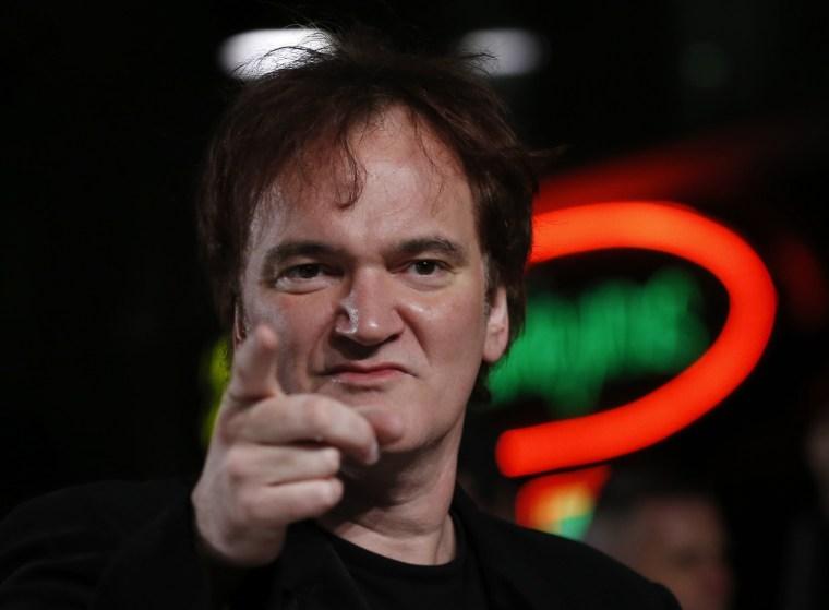 Image: Director Quentin Tarantino
