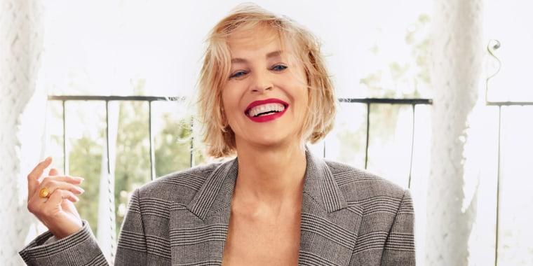 Sharon Stone Allure