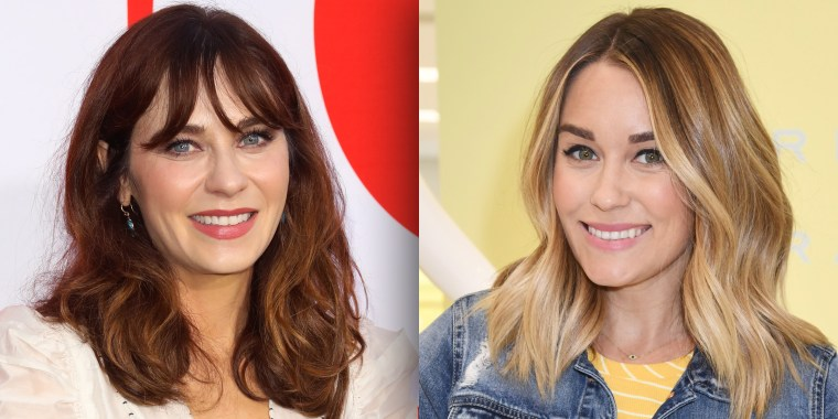 Zooey Deschanel and Lauren Conrad each named their son Charlie Wolf.