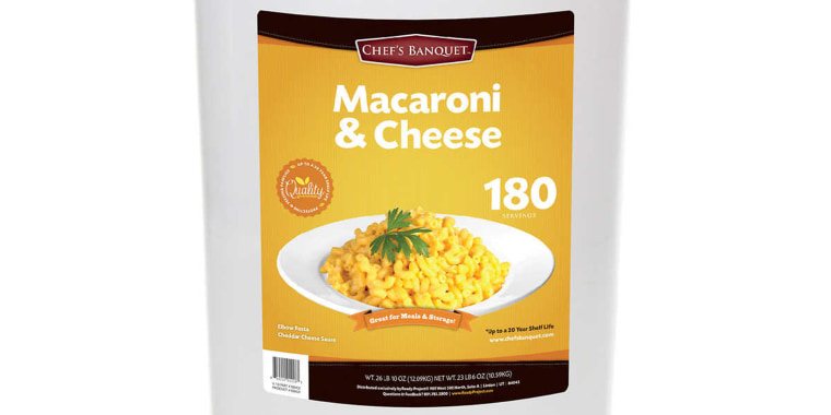 Giant Costco Mac and Cheese