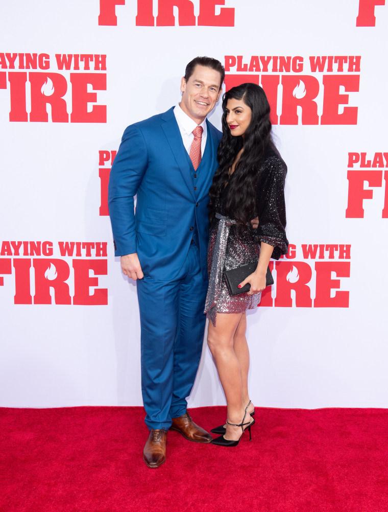 John Cena And Shay Shariatzadeh Make Their Red Carpet Debut