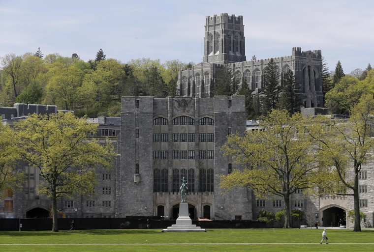 Image: A view of the United States Military Academy at West Point, N.Y.