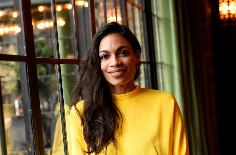 Image: Rosario Dawson attends a gala at the Bowery Hotel in New York in 2017.