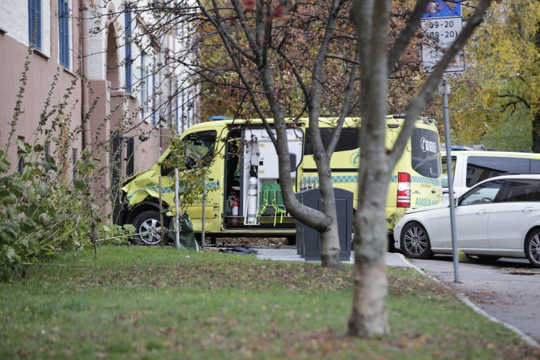 Armed man steals ambulance in Norway, sending five people to hospital