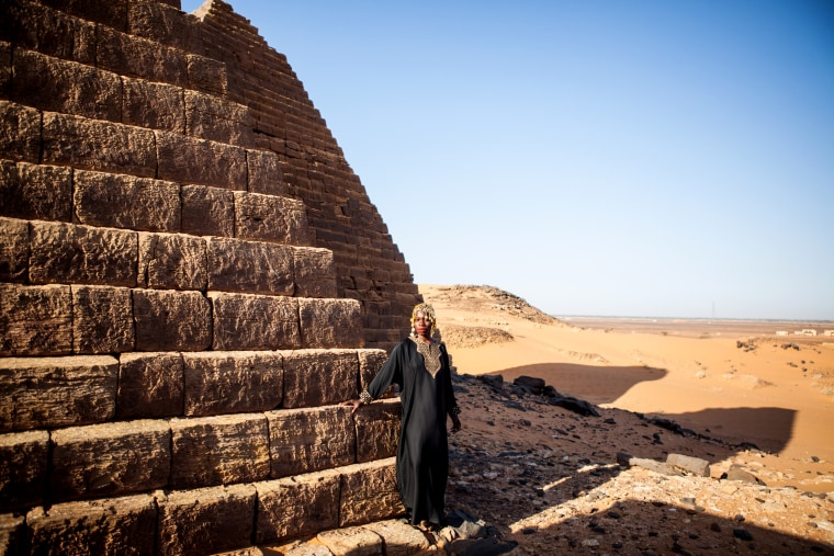 Image: Jessica Nabongo in Sudan.