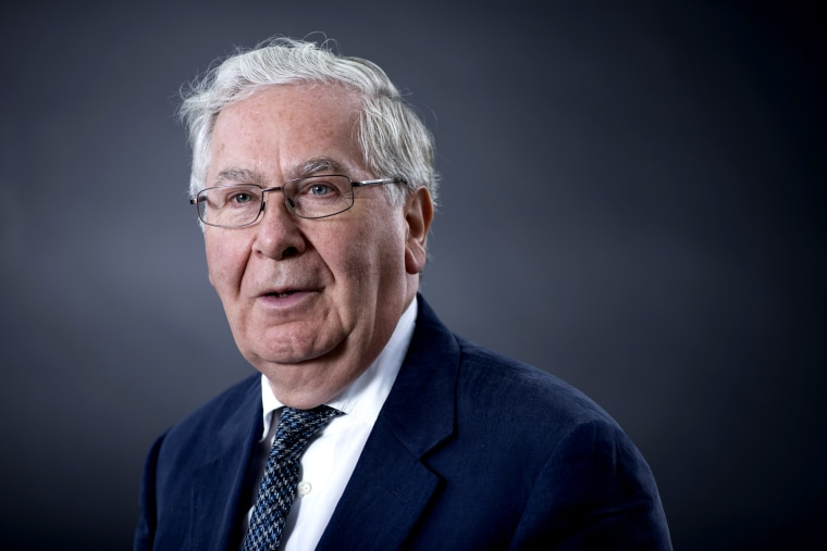 Image: Former Governor of the Bank of England Mervyn King in Edinburgh in 2016.