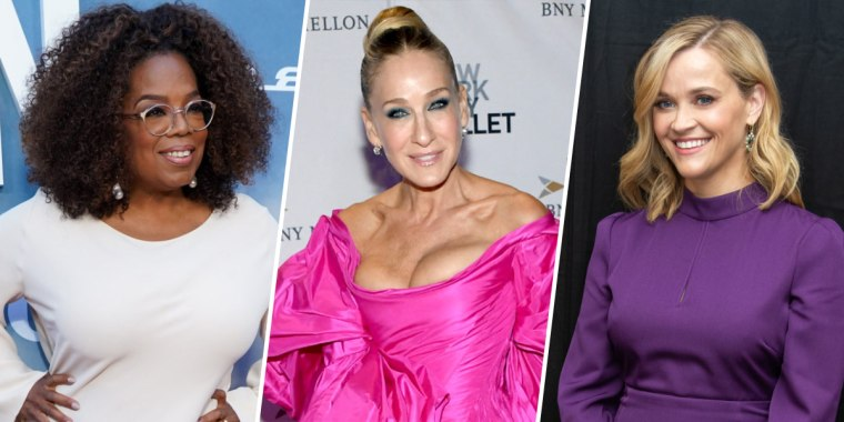 Oprah, Sarah Jessica Parker, and Reese Witherspoon.