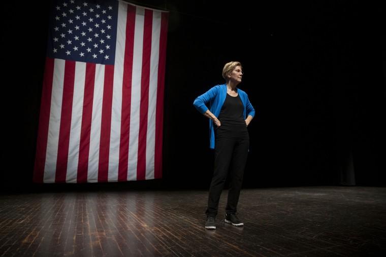 Senator Elizabeth Warren Holds Iowa Town Hall Event