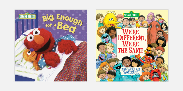 Some of the most popular Sesame Street books for kids and toddlers