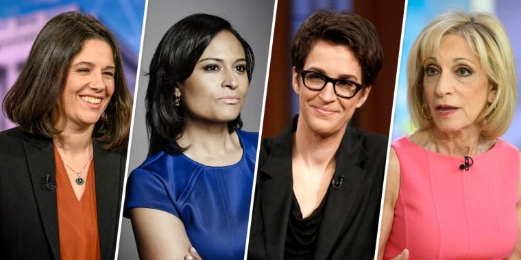 MSNBC names four renowned female journalists as moderators for November debate