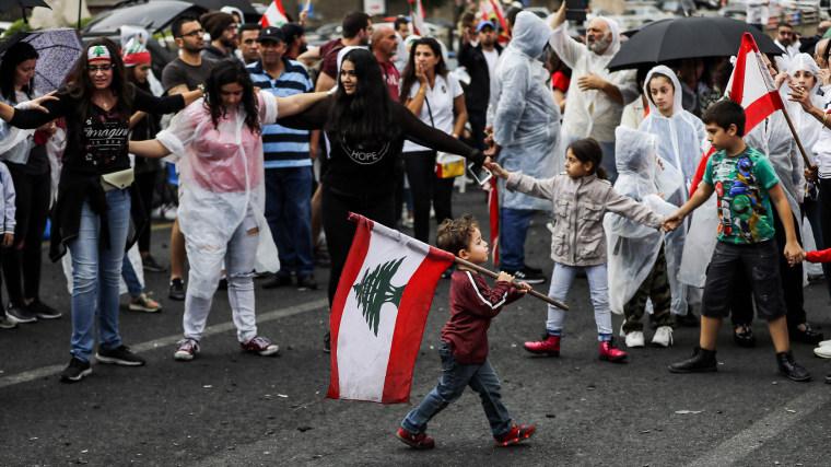 Image: Lebanon protest