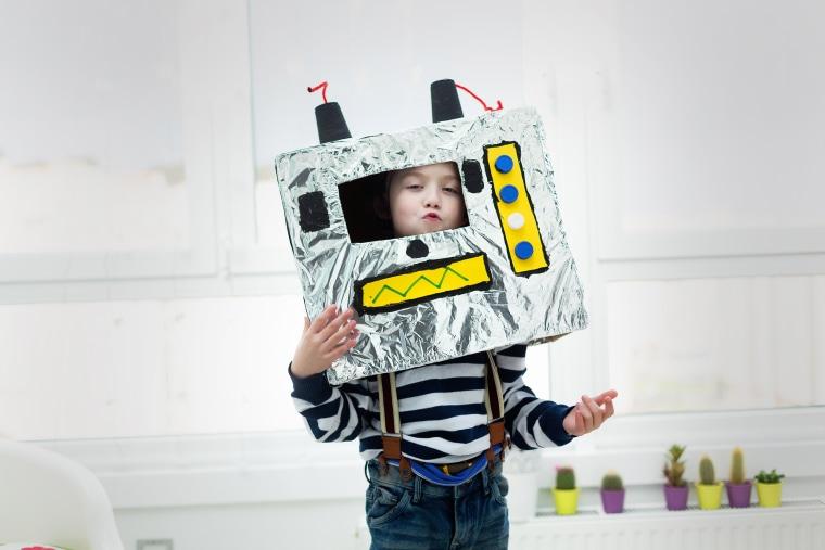Image: Robot costume