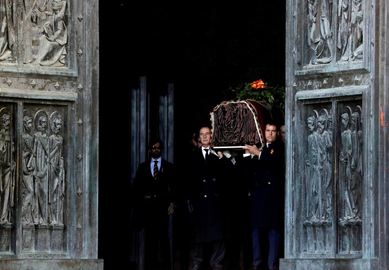 Image: Exhumation of late Spanish dictator Francisco Franco in Spain