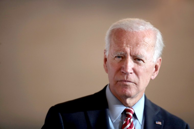 Image: Presidential Candidate Joe Biden Campaigns In Eastern Iowa