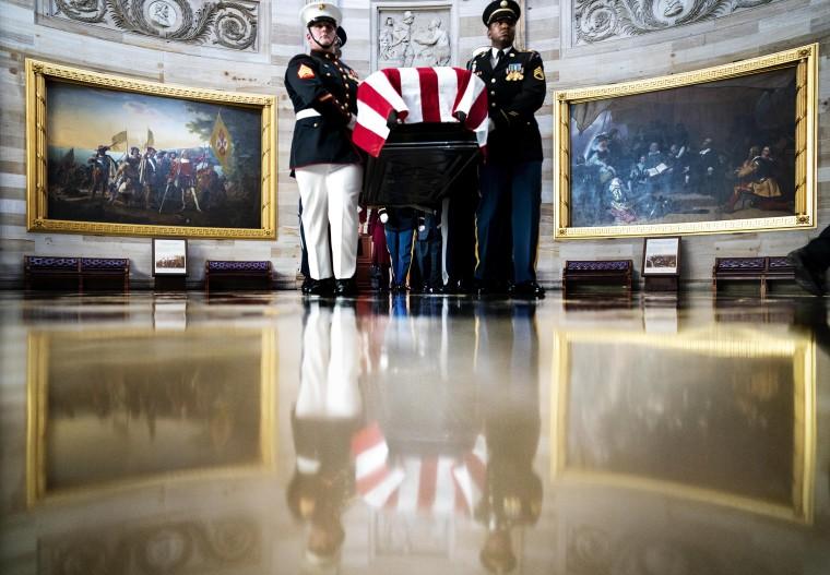 Image: Rep. Elijah Cummings Lies In State At U.S. Capitol