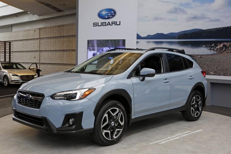 Image: Subaru Crosstrek