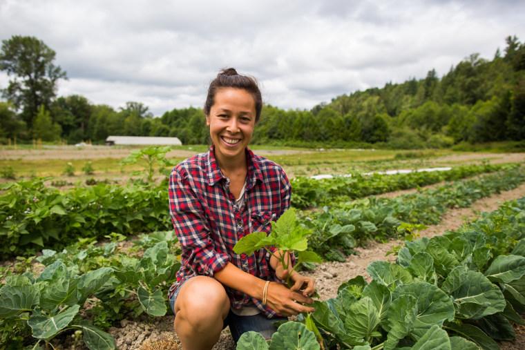 Ariana de Lena owns and operates Kamayan Farm, near Seattle.