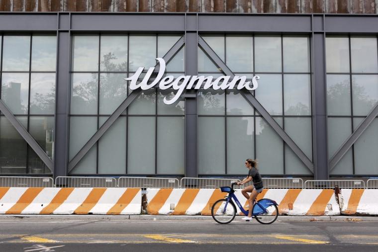 Wegmans is seen at the Brooklyn Navy Yard in Brooklyn, N.Y. on Sept. 8, 2019.