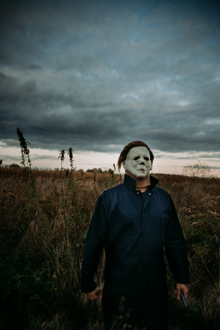 "Evan Zimmerman has been dressing up as Michael Myers from ""Halloween"" since 2012."