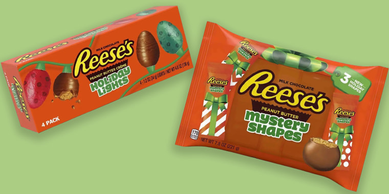 Can you guess Reese's new mystery holiday shapes?