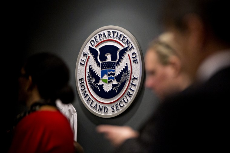 Image: The U.S. Immigration and Customs Enforcement headquarters in Washington in 2018.