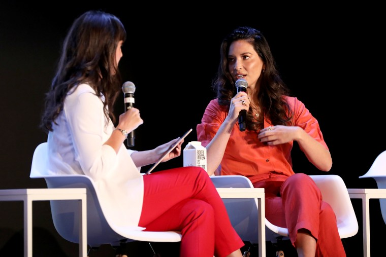 Image: ForbesWomen editor Maggie McGrath interviews Olivia Munn at the Forbes 30 Under 30 Summit in Detroit on Oct. 27, 2019.