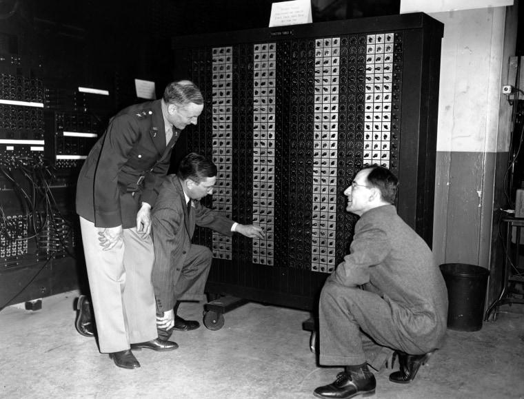 Image: ENIAC supercomputer
