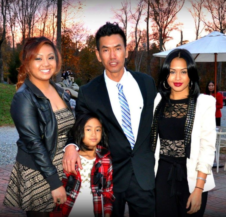 Image: Philya Thach and his family.