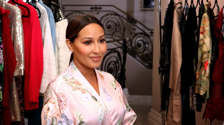 """IMage: Adrienne Bailon-Houghton, host of the new Digital Facebook show, """"Wear it Well."""""""